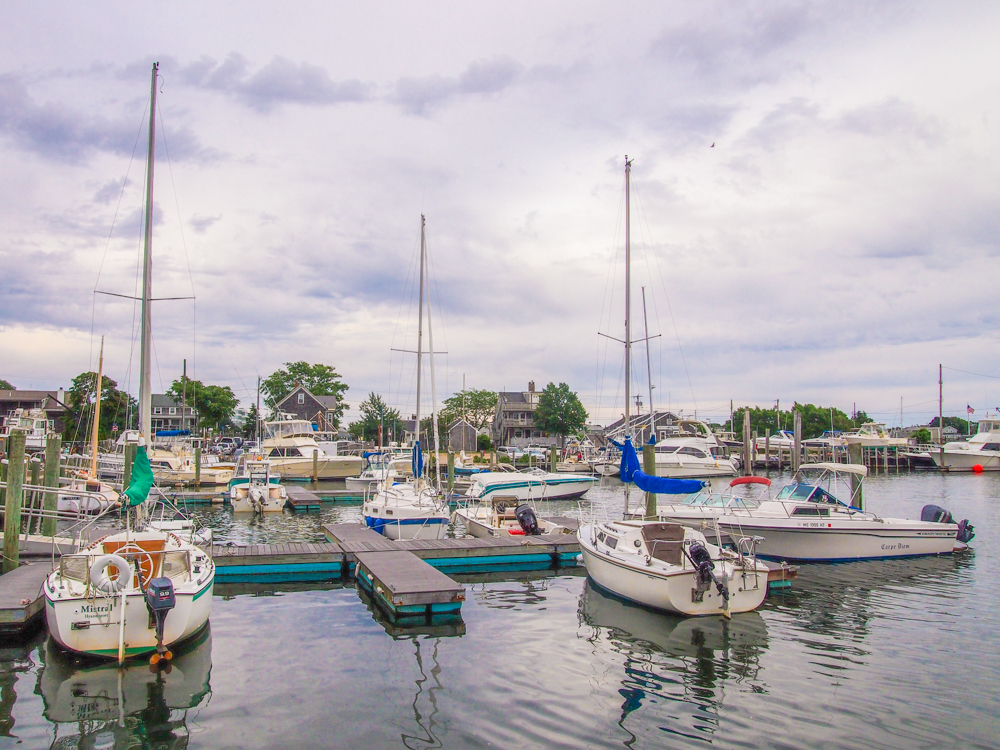 Harbor in Cape Cod