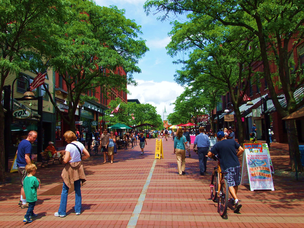 Church Street Marketplace, Burlington