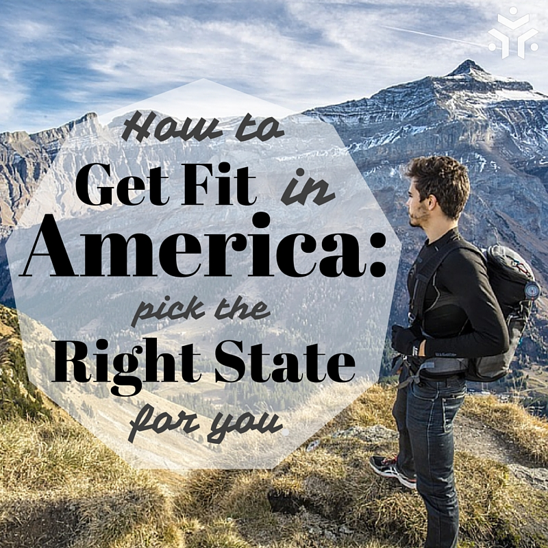 How to get fit in America: pick the right State for you